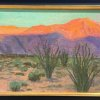 """Evening Hues—Borrego Springs""  16x24"" Oil on Canvas"