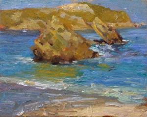 sea_rock_study